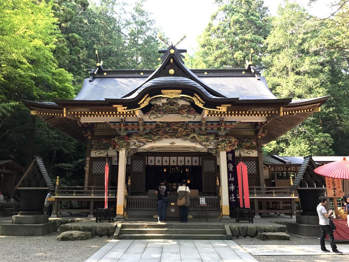 秩父三社の一社「宝登山神社」