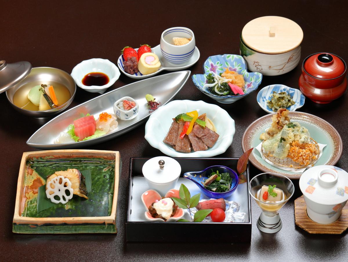 会席料理一例(8,000円)