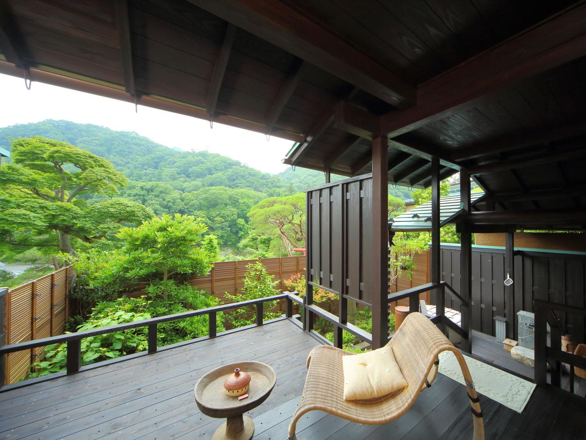 特別室から見える長瀞渓谷の絶景をどうぞ