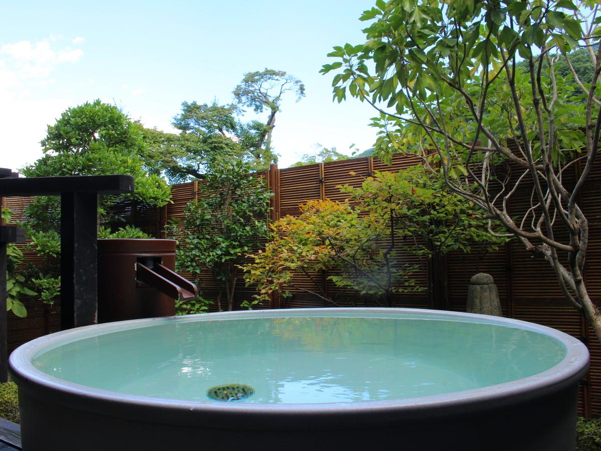 露天風呂から見る景色。